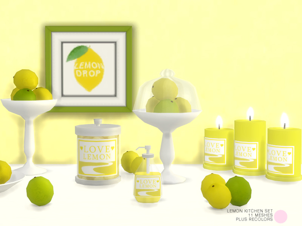 Lemon Kitchen Set by DOT