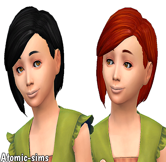Girls Innocence Hair retexture