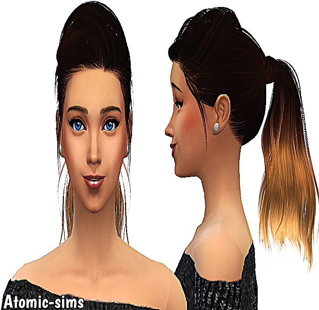 Skysims hair 188 alpha edit