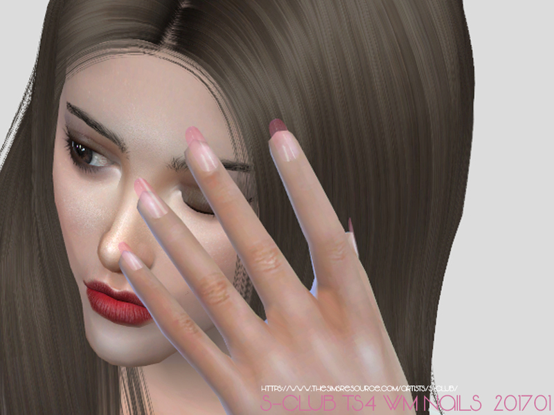 ts4 WM Nails 201701 by S-Club