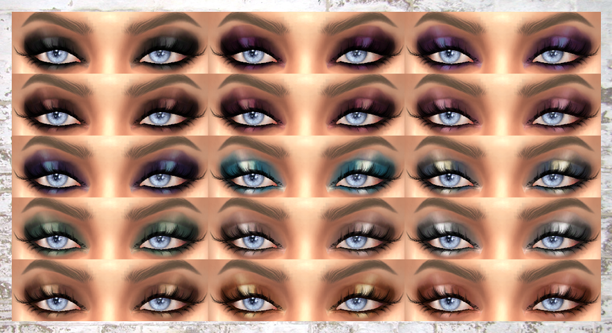 LACEY EYESHADOW by alaina-lina