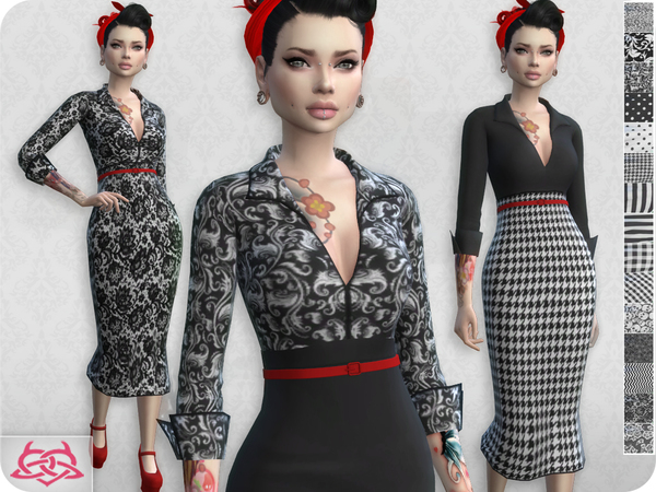 Set Blouse / Skirt RECOLOR 1 by Colores Urbanos