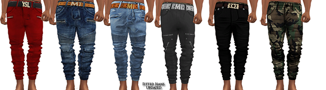 Male Jeans by 8o8sims