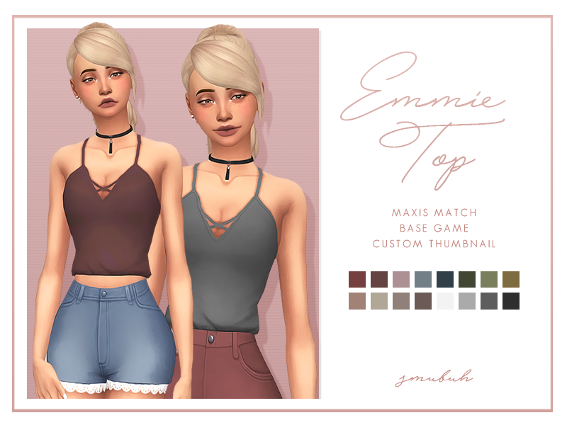 Emmie Top by smubuh