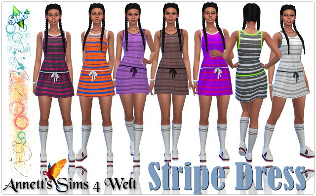 Stripe Dress by Annett85