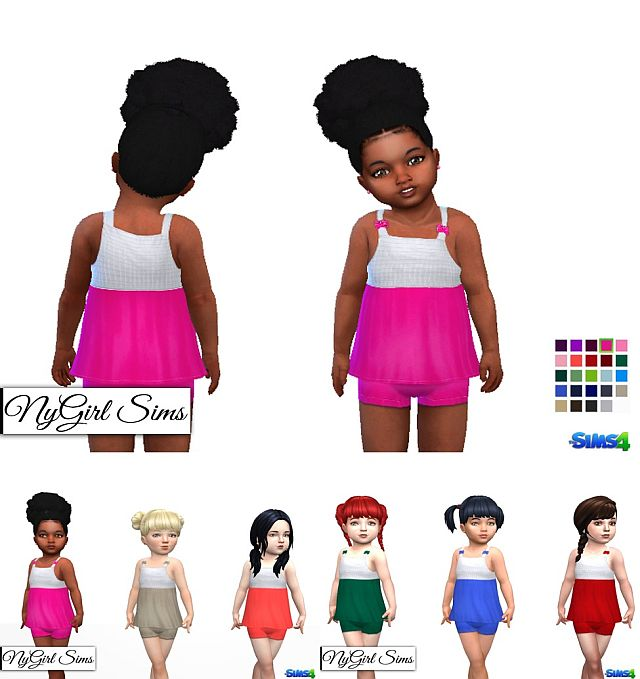 Tank and Shorts Two Piece by NyGirl