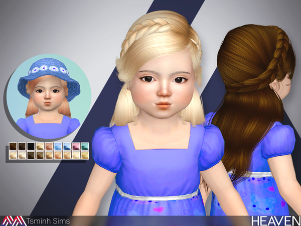 Heaven ( Hair 33 - toddler ) by TsminhSims