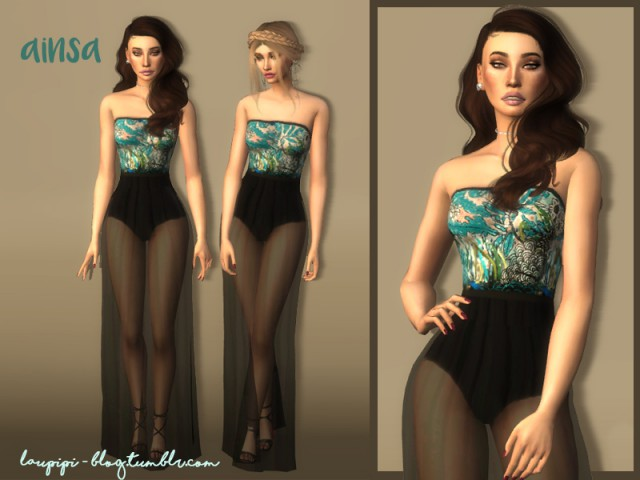 Ainsa dress by Laupipi