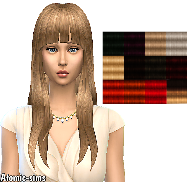 NotEgain Alicia hair retexture