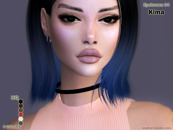 Eyebrows04 Kima by ANGISSI
