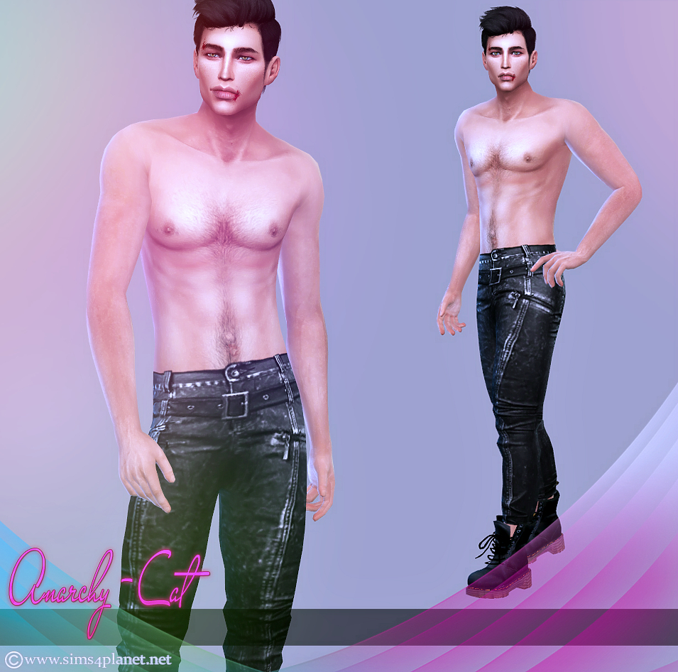 Jeans of males #2 by Anarchy-Cat