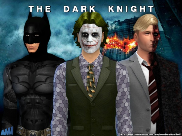 The Dark Knight Set by AmiSwift