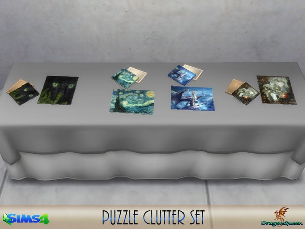 Puzzle Clutter Set by DragonQueen