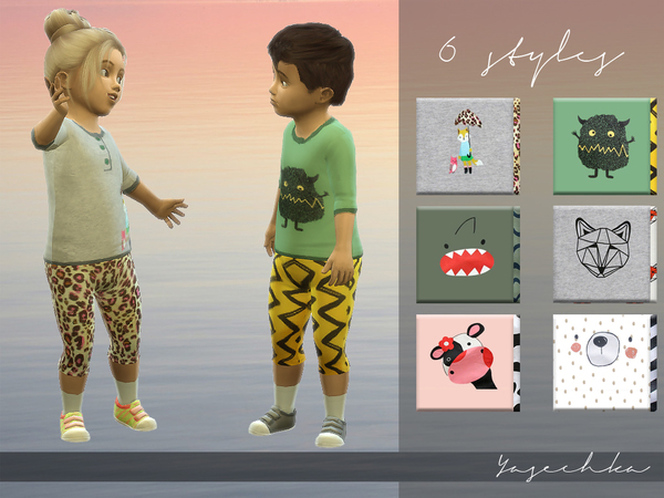 Yasechka Toddler Set v1