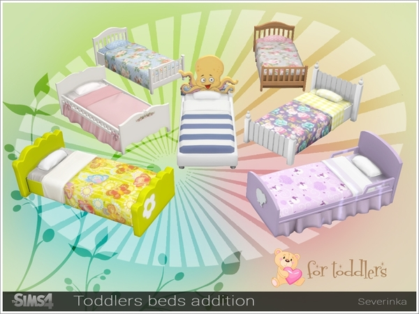 Toddlers beds addition pack by Severinka