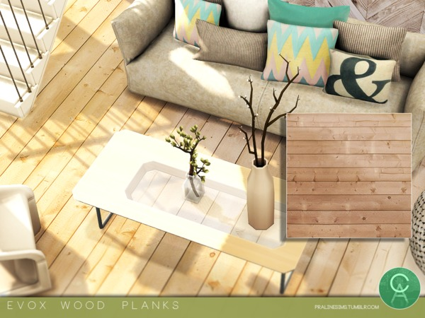 EVOX Wood Planks by Pralinesims