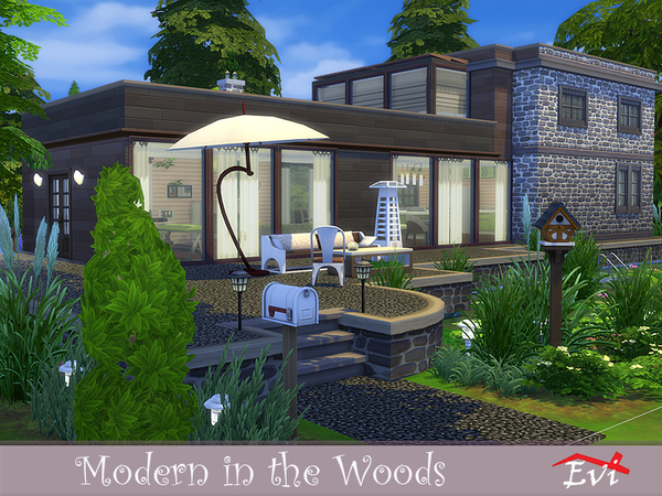 Modern in the Woods by evi