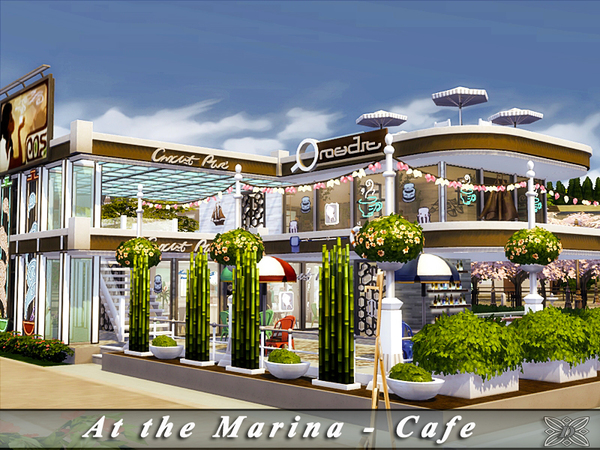 At the Marina - Cafe [No CC] by Danuta720