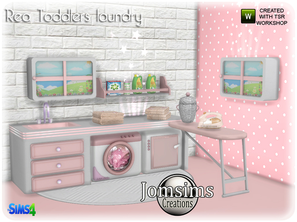 Rea toddlers laundry by jomsims