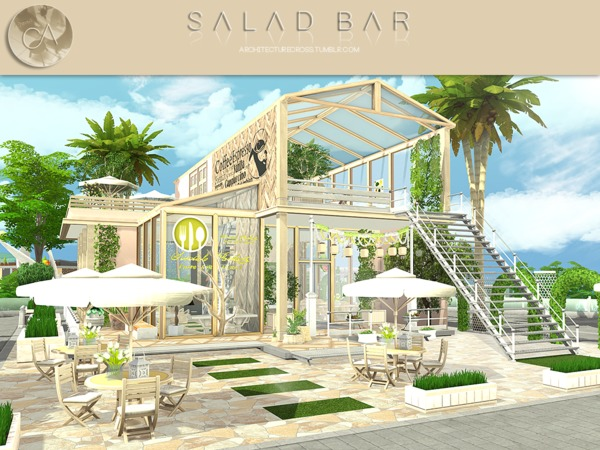 Salad Bar by Pralinesims