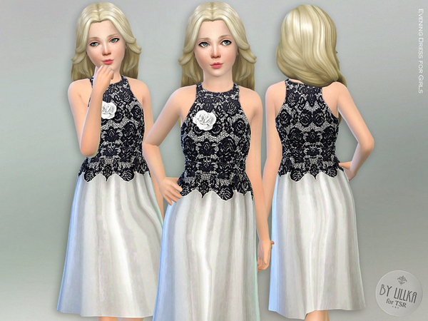 Evening Dress for Girls by lillka