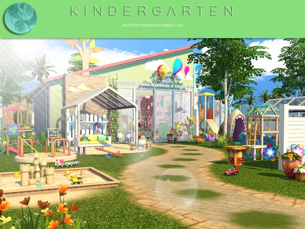 Kindergarten by Pralinesims