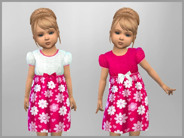 Toddler Summer Floral Dress by SweetDreamsZzzzz