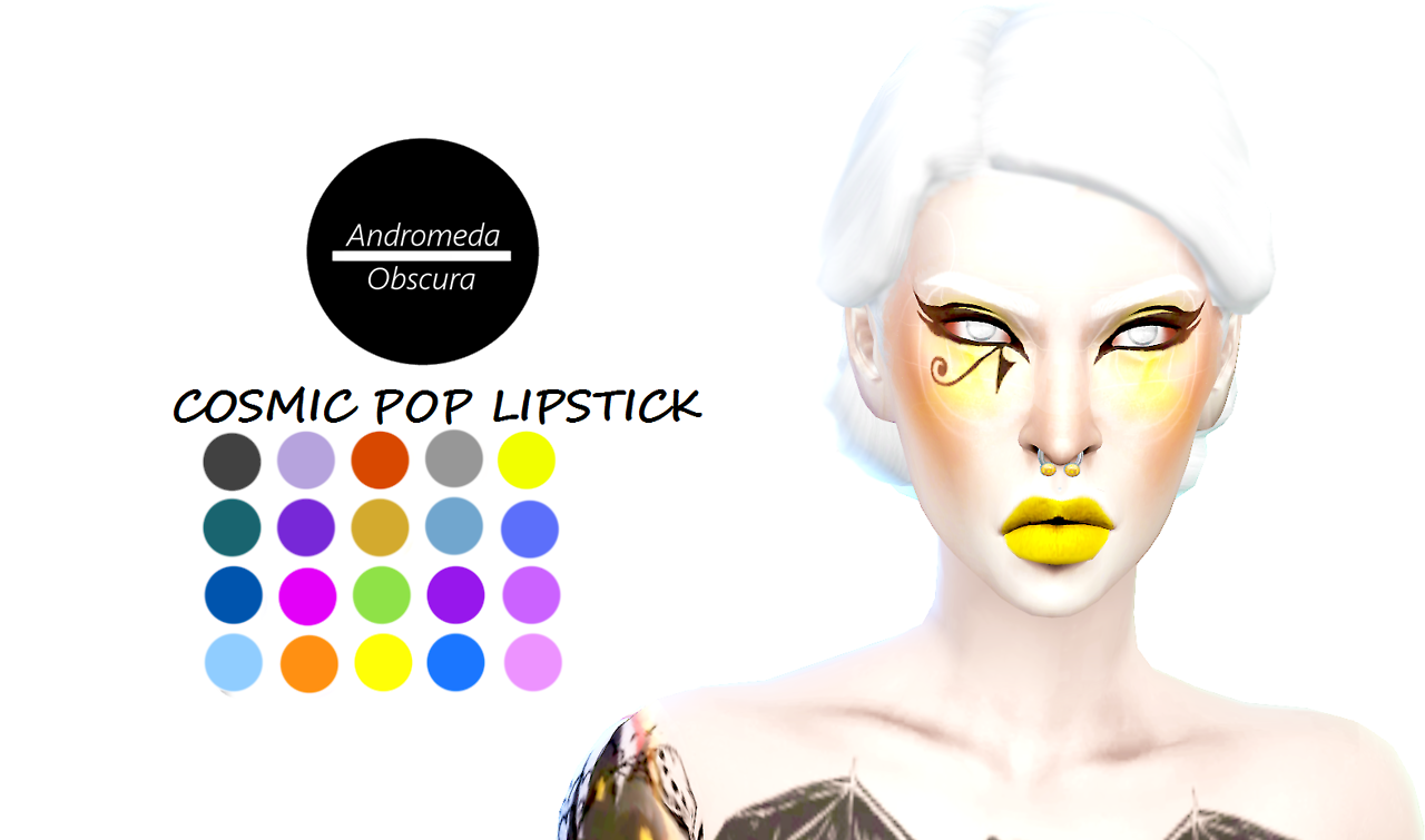 Cosmic Pop Lipstick by andromedaobscura