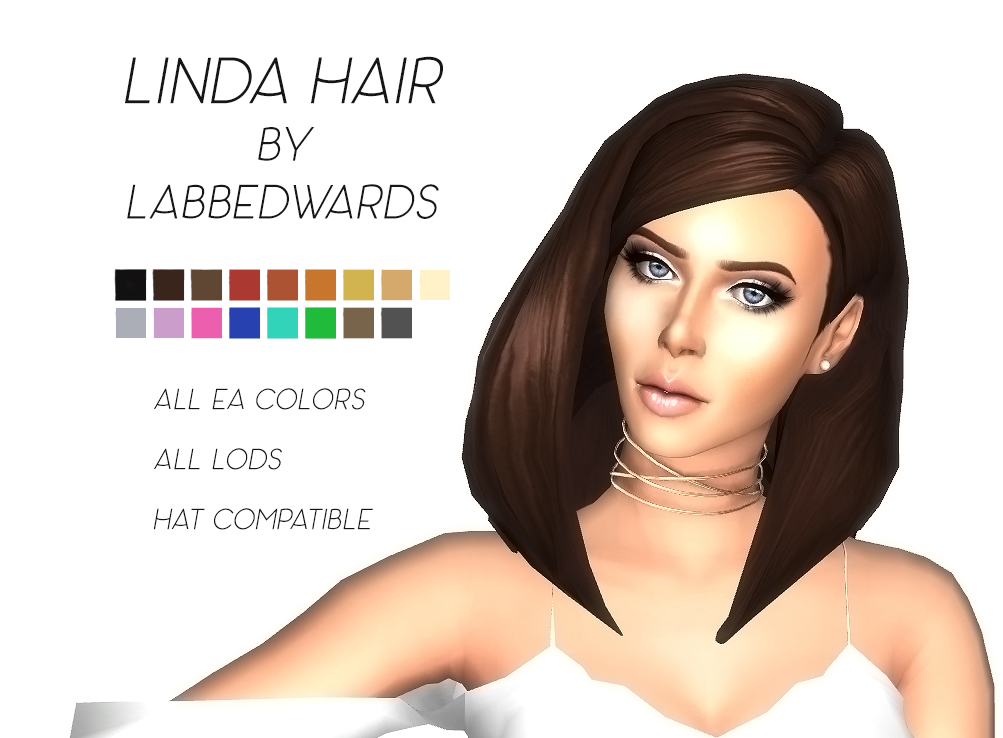 Linda Hair by Labbedwards