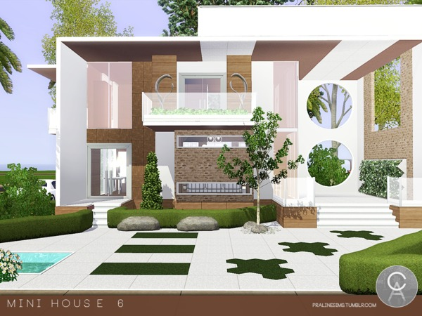Mini House 6 by Pralinesims