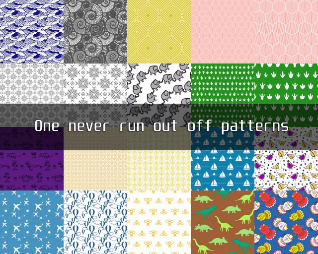 One never run out off patterns pack by teekapoa