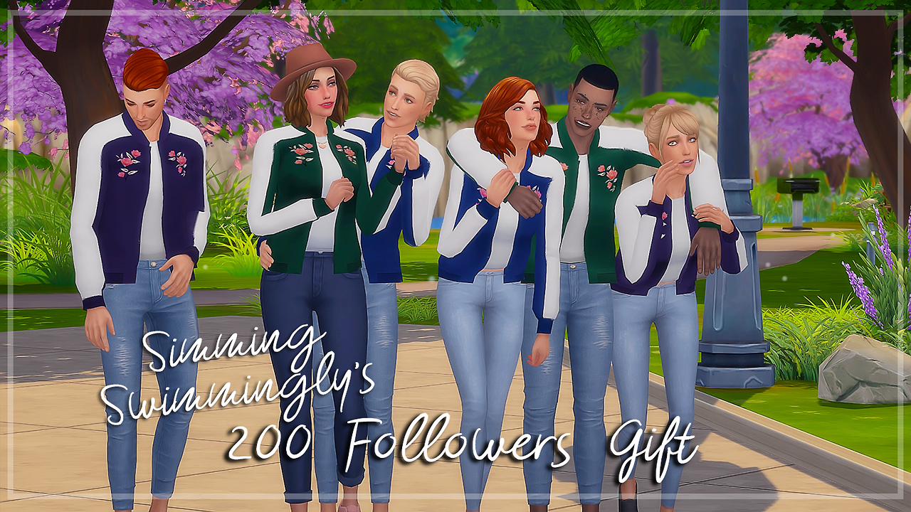 Floral Bomber Jacket by SIMMING SWIMMINGLY