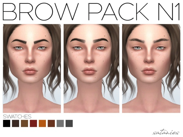 Brow Pack N1 by satanies