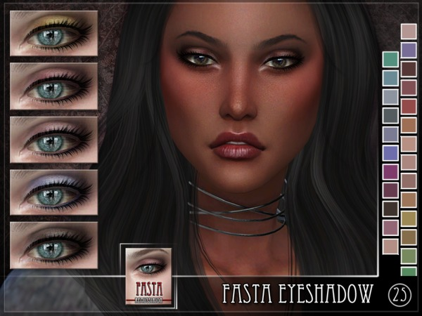 Fasta Eyeshadow by RemusSirion