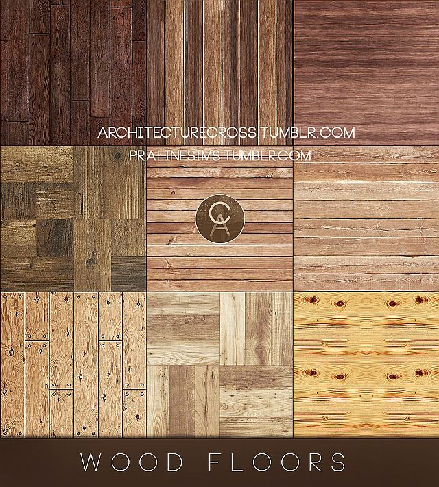 Wood Floors от Pralinesims