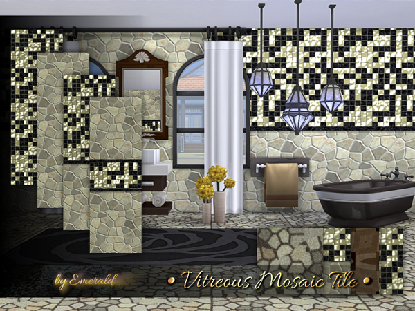 Vitreous Mosaic Tile by emerald