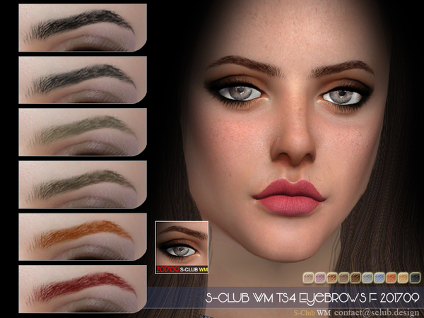 S-Club WM ts4 Eyebrows F 201709