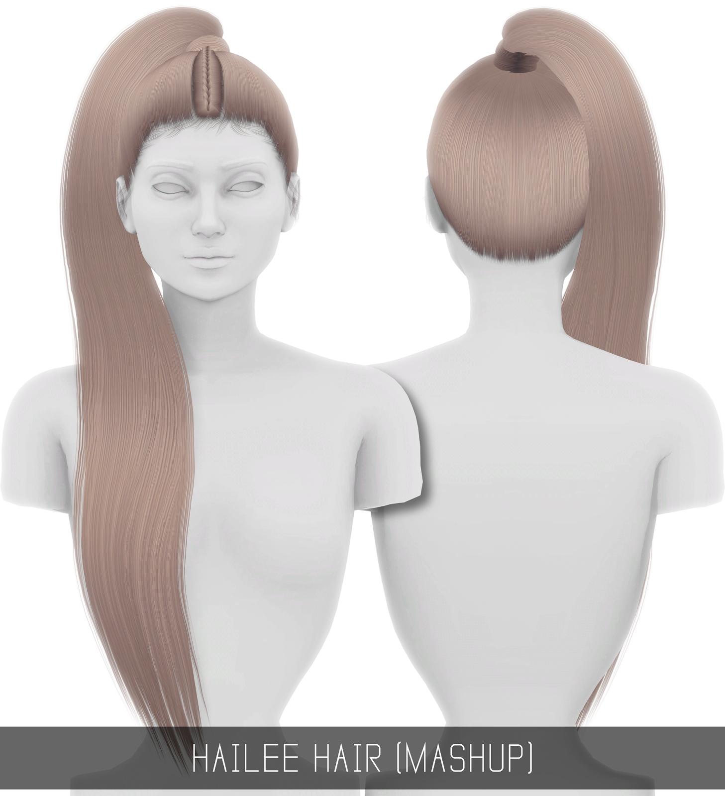 HAILEE HAIR (MASHUP) by Simpliciaty