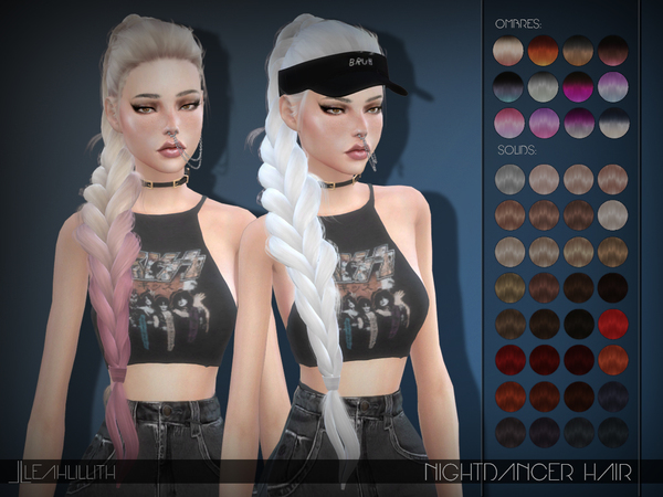 LeahLillith Nightdancer Hair by Leah Lillith