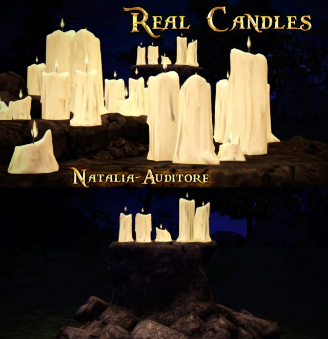 Real Candle by natalia-auditore