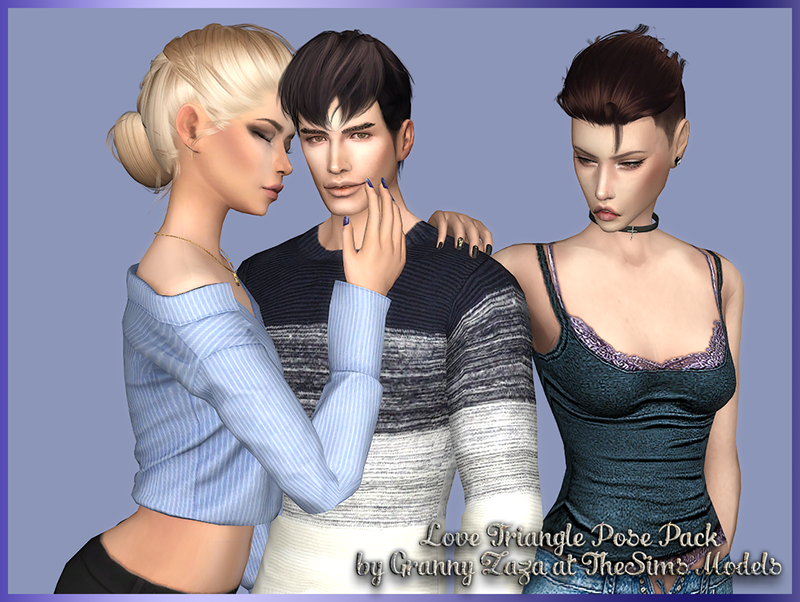 Love Triangle Pose Pack от Granny Zaza