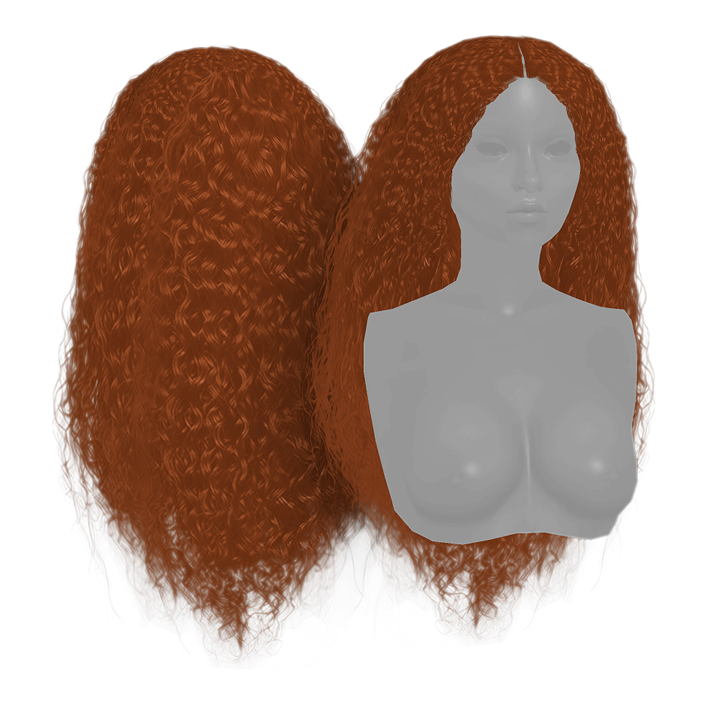 MERIDA HAIR by gramsims