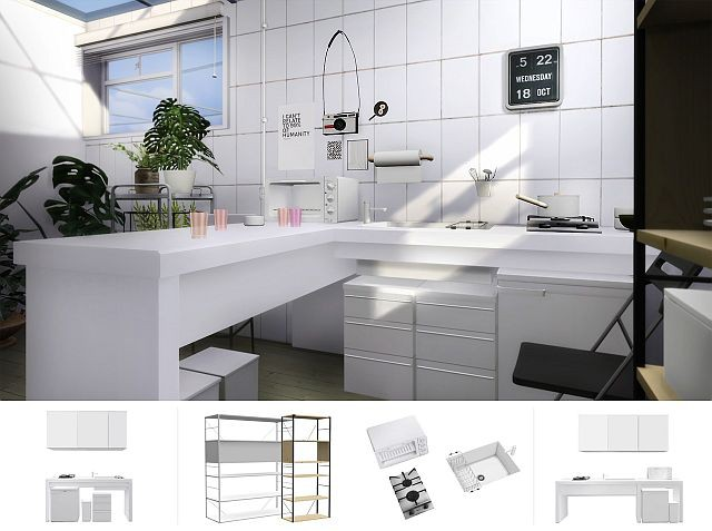 Compact kitchen by Slox