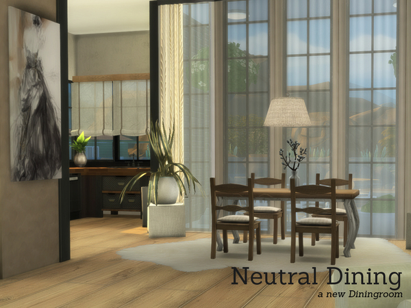 Neutral Dining by Angela