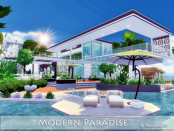Modern Paradise by Moniamay72
