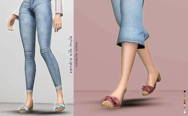 Xendra Mules by Volatile Sims