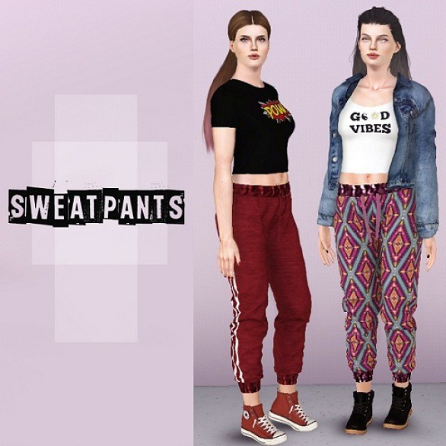 Sweatpants by Descargassims