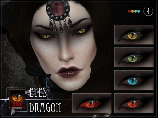 Dragon Eyes by RemusSirion