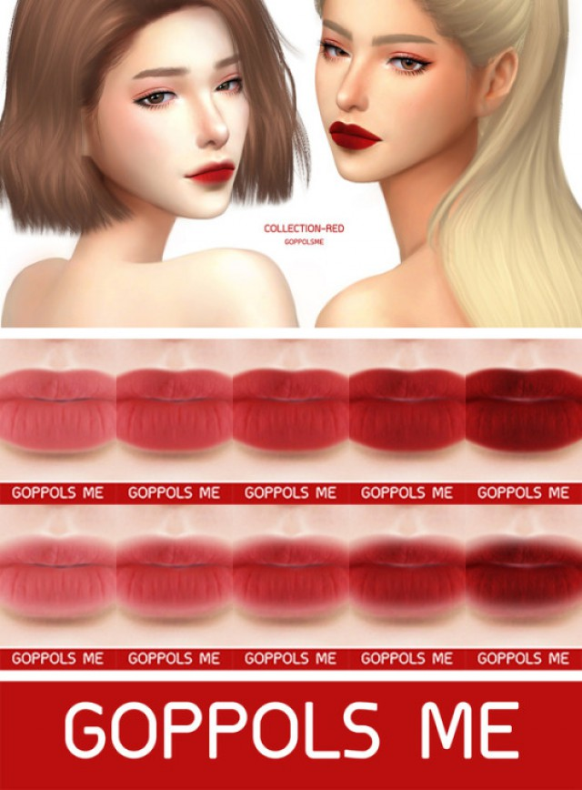 Collection-Red Matte by goppolsme