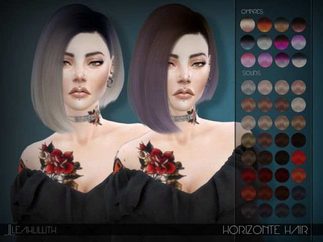 Horizonte Hair by LeahLillith